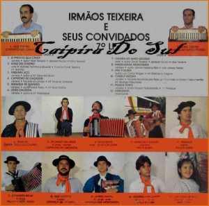 Frente-Irmãos Teixeira - Vol. 7