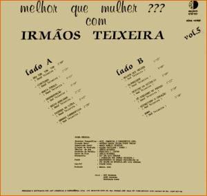 Verso-Irmãos Teixeira - Vol. 5