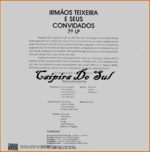 Verso-Irmãos Teixeira - Vol. 7